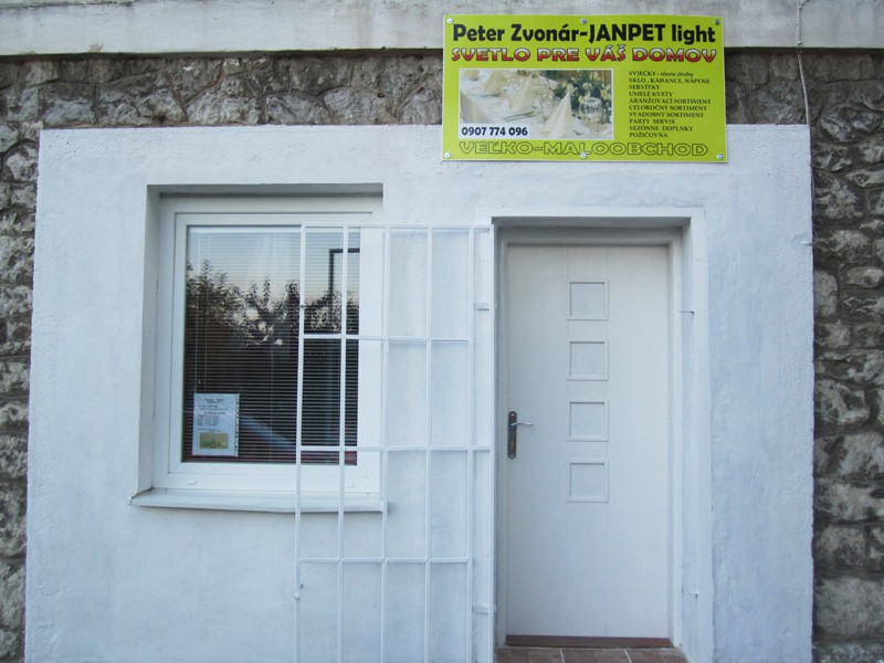 Peter Zvonár – JANPET light