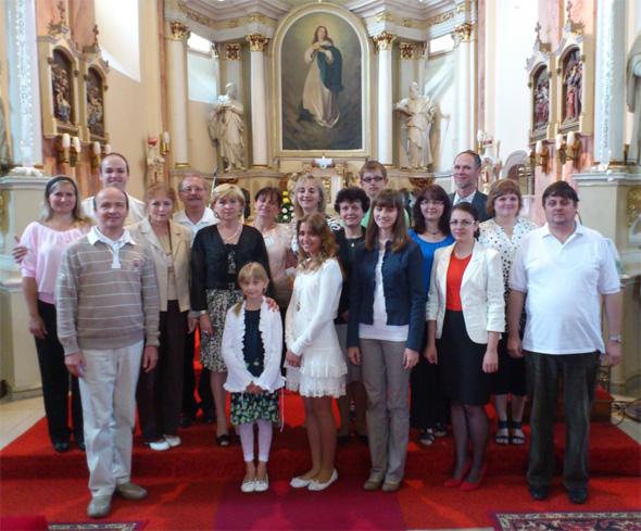 fotografia členov speváckeho zboru Mysterium Cantus