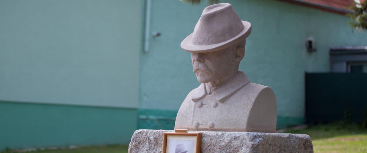 busta grófa Jozefa Pálffyho
