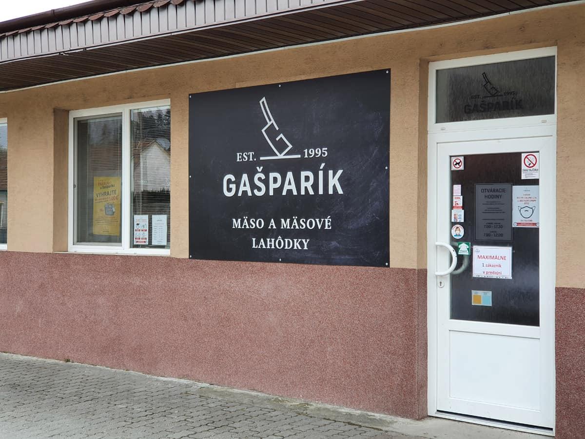 Gašparík – predaj mäsa